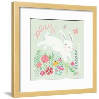 Garden Friends I-Mary Urban-Framed Art Print
