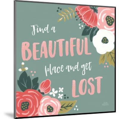 Wildflower Daydreams VIII-Laura Marshall-Mounted Art Print