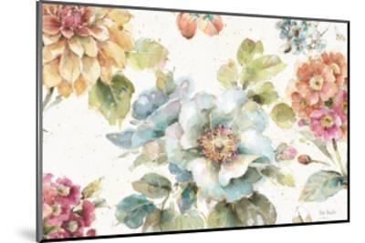 Country Bloom I-Lisa Audit-Mounted Art Print