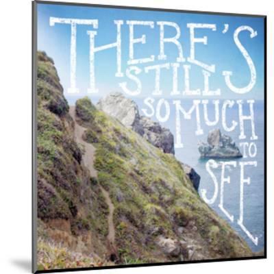 Coastal Advetures I-Laura Marshall-Mounted Art Print