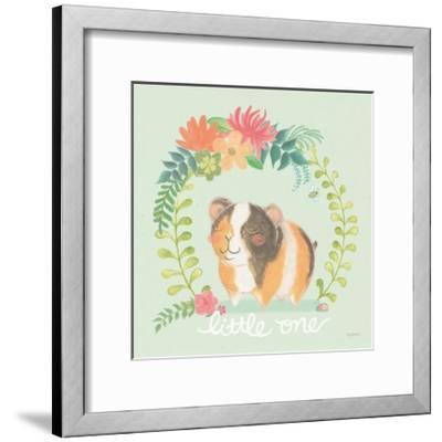 Garden Friends IV-Mary Urban-Framed Art Print