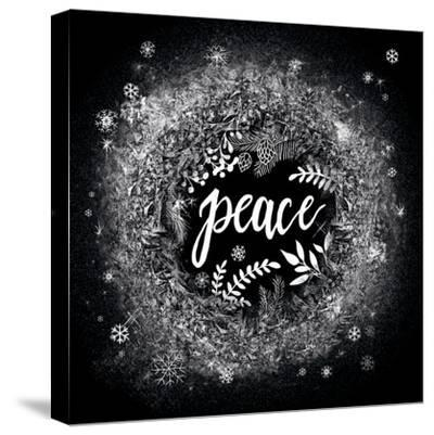 Frosty Peace-Mary Urban-Stretched Canvas Print