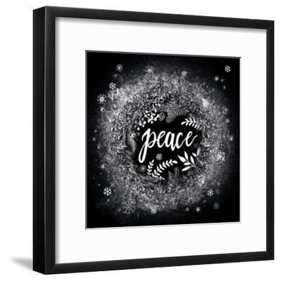 Frosty Peace-Mary Urban-Framed Art Print
