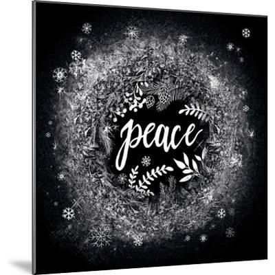 Frosty Peace-Mary Urban-Mounted Art Print