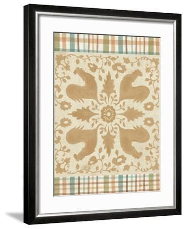 French Country XI-Lisa Audit-Framed Art Print