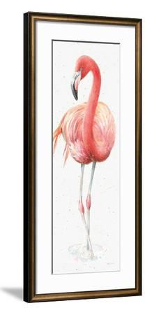 Gracefully Pink VI-Lisa Audit-Framed Art Print