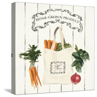 Gone to Market Home Grown Produce-Marco Fabiano-Stretched Canvas Print
