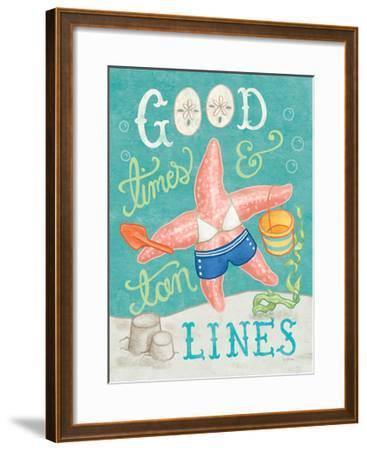 Ocean Friends III-Mary Urban-Framed Art Print