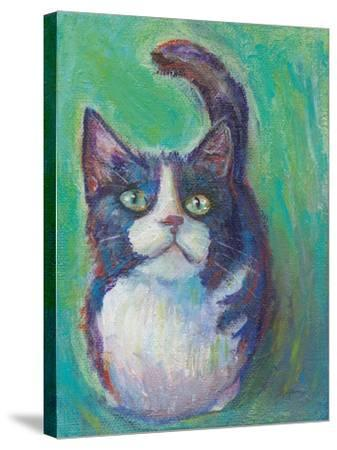 Cookie Bean Green-Mary Urban-Stretched Canvas Print