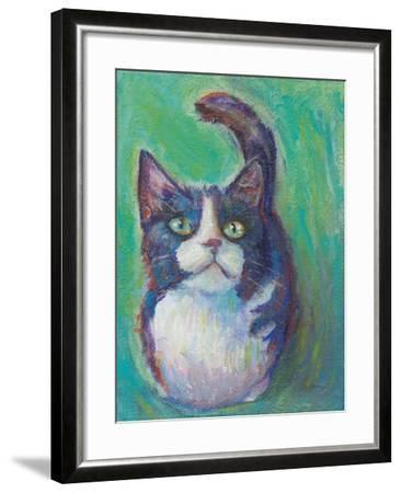 Cookie Bean Green-Mary Urban-Framed Art Print