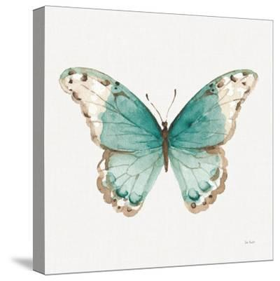 Colorful Breeze XII with Teal-Lisa Audit-Stretched Canvas Print