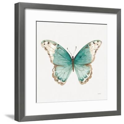 Colorful Breeze XII with Teal-Lisa Audit-Framed Art Print