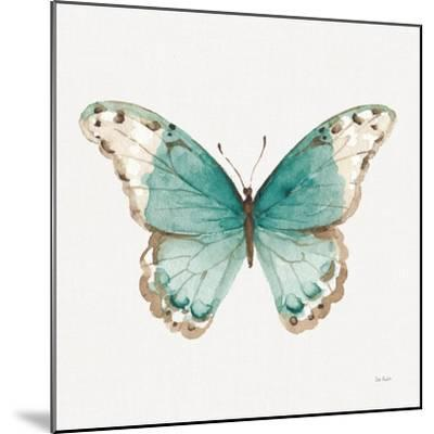 Colorful Breeze XII with Teal-Lisa Audit-Mounted Art Print