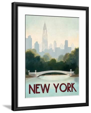 City Skyline New York-Marco Fabiano-Framed Art Print