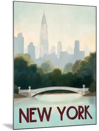 City Skyline New York-Marco Fabiano-Mounted Art Print