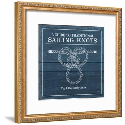 Vintage Sailing Knots II-Mary Urban-Framed Art Print