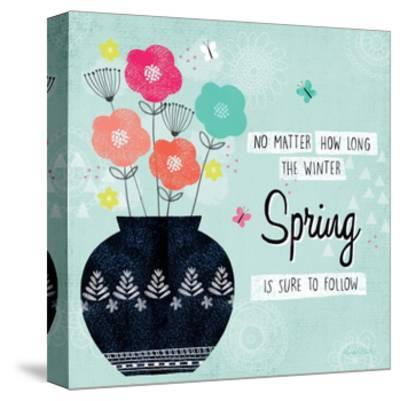 Hello Spring I-Lamai McCartan-Stretched Canvas Print