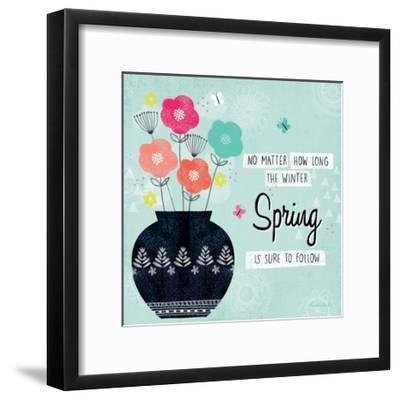 Hello Spring I-Lamai McCartan-Framed Art Print