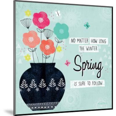 Hello Spring I-Lamai McCartan-Mounted Art Print