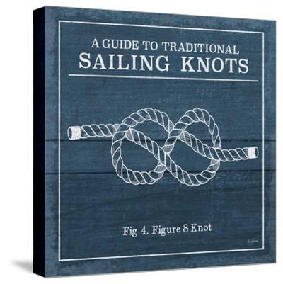 Vintage Sailing Knots IV-Mary Urban-Stretched Canvas Print