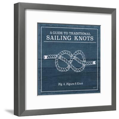 Vintage Sailing Knots IV-Mary Urban-Framed Art Print