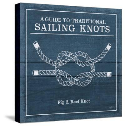 Vintage Sailing Knots III-Mary Urban-Stretched Canvas Print