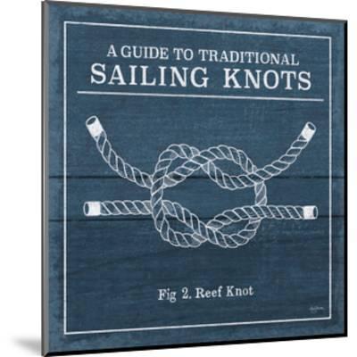 Vintage Sailing Knots III-Mary Urban-Mounted Art Print