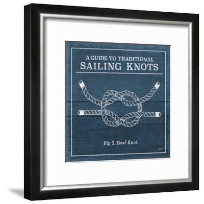 Vintage Sailing Knots III-Mary Urban-Framed Art Print