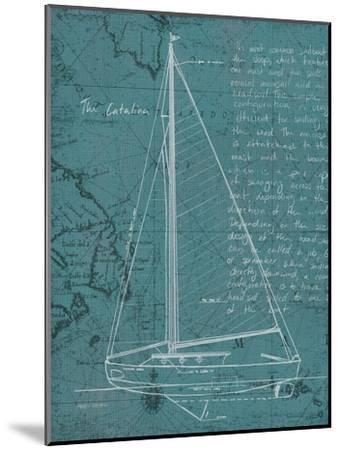 Coastal Blueprint VI-Marco Fabiano-Mounted Art Print