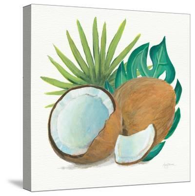 Coconut Palm V-Mary Urban-Stretched Canvas Print