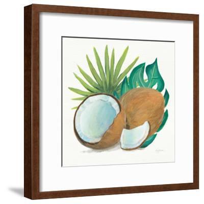 Coconut Palm V-Mary Urban-Framed Art Print