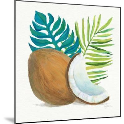 Coconut Palm IV-Mary Urban-Mounted Art Print