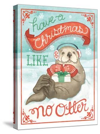Polar Friends II-Mary Urban-Stretched Canvas Print