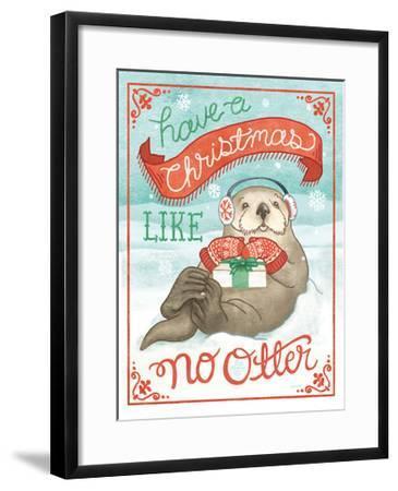 Polar Friends II-Mary Urban-Framed Art Print