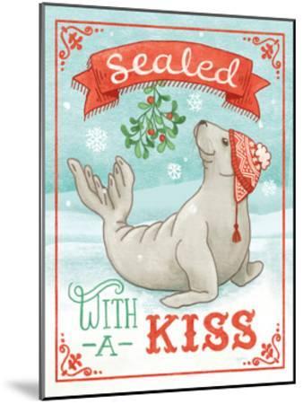 Polar Friends I-Mary Urban-Mounted Art Print