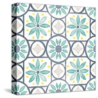 Garden Getaway Pattern XV-Laura Marshall-Stretched Canvas Print