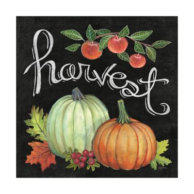 Autumn Harvest IV Square-Mary Urban-Framed Art Print