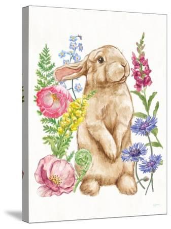 Sunny Bunny III-Mary Urban-Stretched Canvas Print