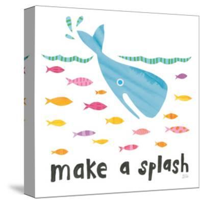 Ocean Splash I-Melissa Averinos-Stretched Canvas Print