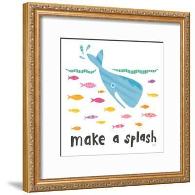 Ocean Splash I-Melissa Averinos-Framed Art Print
