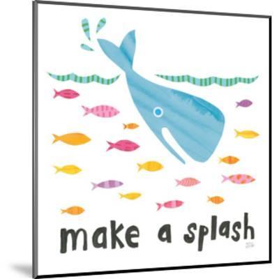 Ocean Splash I-Melissa Averinos-Mounted Art Print