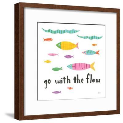 Ocean Splash II-Melissa Averinos-Framed Art Print