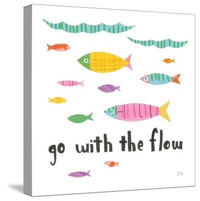Ocean Splash II-Melissa Averinos-Stretched Canvas Print
