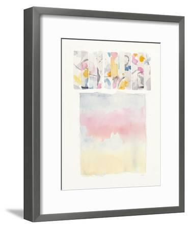 Day Dream Watercolor-Mike Schick-Framed Art Print