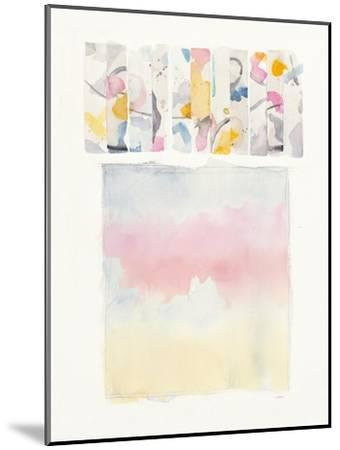 Day Dream Watercolor-Mike Schick-Mounted Art Print