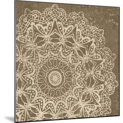 Contemporary Lace II Spice-Moira Hershey-Mounted Art Print