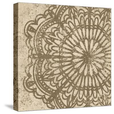 Contemporary Lace VI Spice-Moira Hershey-Stretched Canvas Print