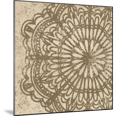 Contemporary Lace VI Spice-Moira Hershey-Mounted Art Print