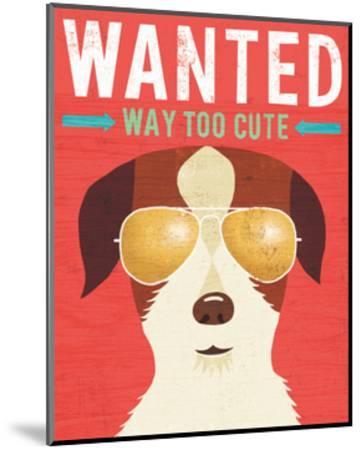 Beach Bums Terrier I Wanted-Michael Mullan-Mounted Art Print
