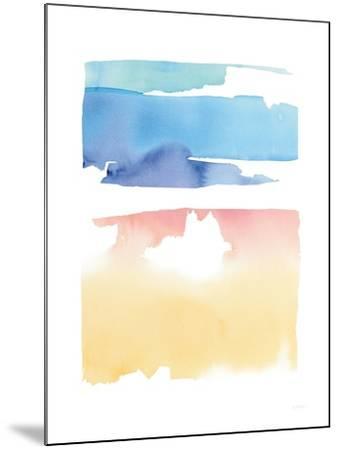 Waterslide Merger-Mike Schick-Mounted Art Print
